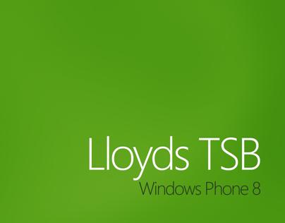 Lloyds TSB Windows Phone 8 Concept Design