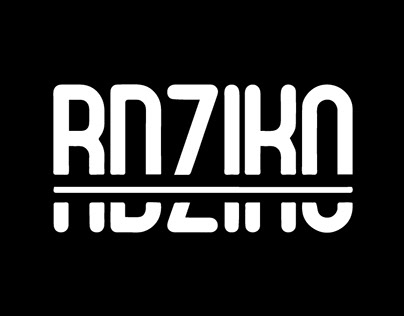 "Milk for kids ""RDZIKO"" logo and packaging"