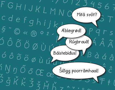 Jann Script font