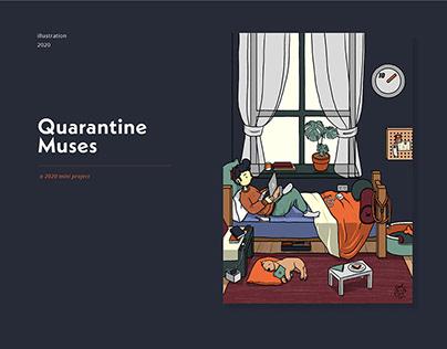 #QuarantineMuses | illustrations