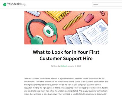Freshdesk | Blogpost 2