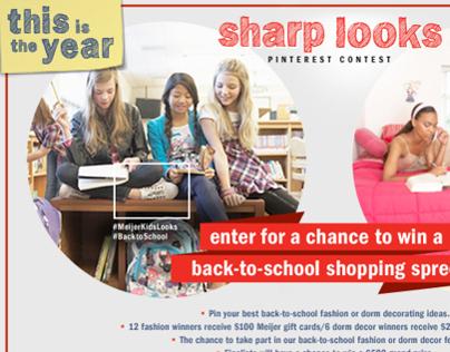 Meijer Sharp Looks Pinterest Contest - Digital