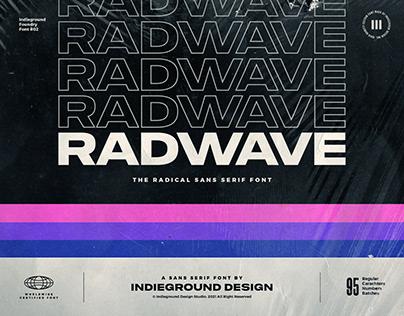 Radwave Free Font