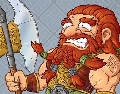 The urgency of Dwarf warrior