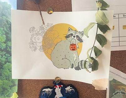 Cores, plantas & animais - Ilustrações