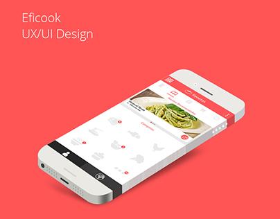 Eficook UX/UI Design