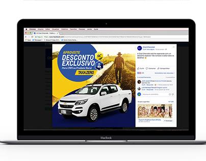 Cical Chevrolet - Mídias Sociais