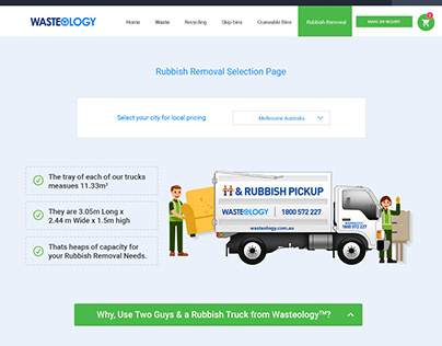 Westeology waste management web