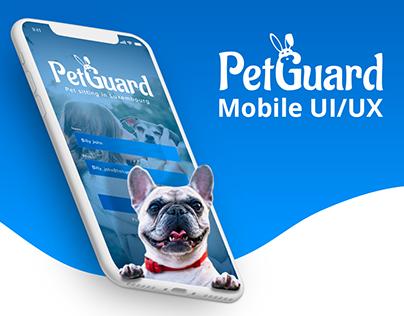 PETGUARD UI/UX DESIGN