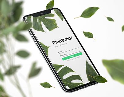 Planterior app - concept