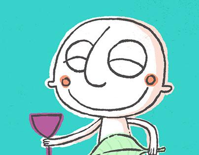 a Baco, dios del vino