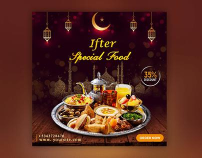 Ramadan Iftar banner