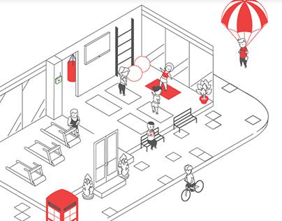 WiFi Team animated website