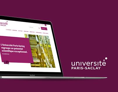 Université Paris-Saclay Website Design