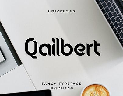 Qailbert Font