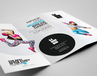 Dance Studio Brochure On Behance