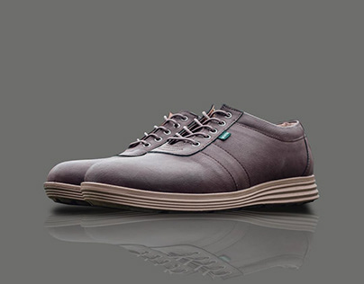 Outdoor Photoshoot with Male Shoes Product