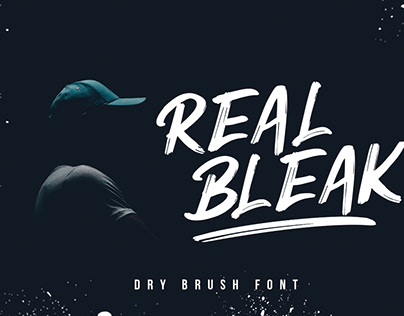 REAL BLEAK FONT
