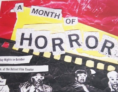 A MONTH OF HORROR