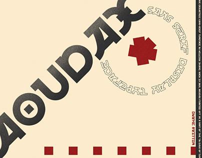 AOUDAX - FREE FONT