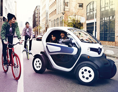 Renault Twizy Banner Case Study