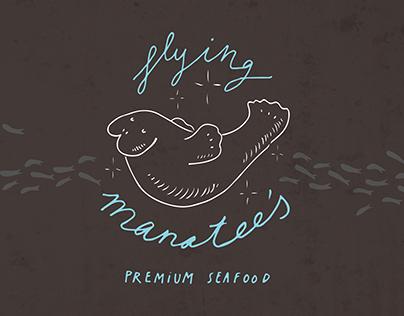 Flying Manatee's branding