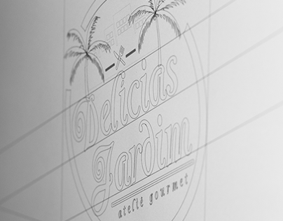 Logotipo para Delícias Jardim