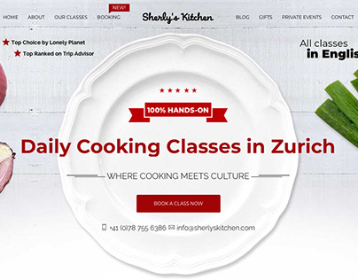 Sherly´s Kitchen Web Design and Development