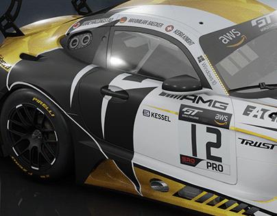 Mercedes AMG GT3 Corsair Components