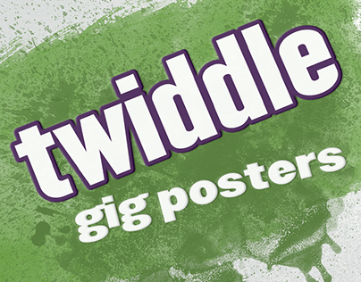 Twiddle gig posters