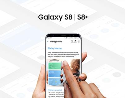 Samsung S8+ manual