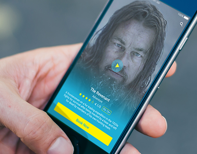 Novo Cinemas iOS App Redesign Concept