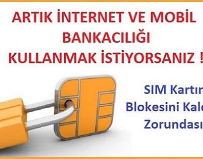 Ziraat İnternet Bankacılığı Sim Kart Değişikliği