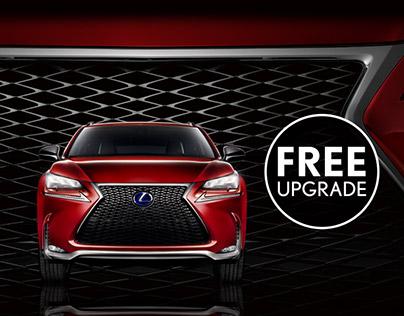 Lexus luxury upgrade Campaign, Netherlands