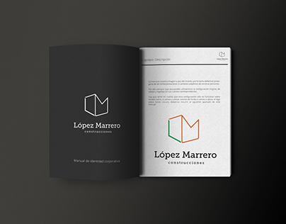 Diseño y desarrollo de marca para López Marrero