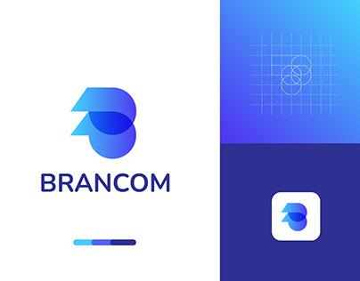 b letter logo mark l gird logo mark l moden logo desing