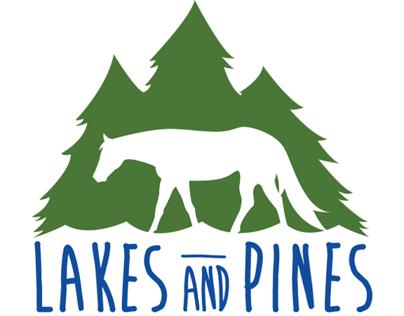 Lakes and Pines Saddle Club Logo