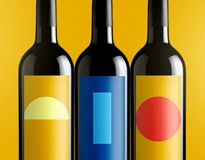 VK Wines — Wine Label Design