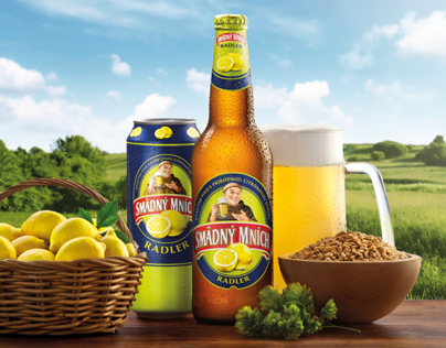 Smädný Mních Radler Packaging & Packshot