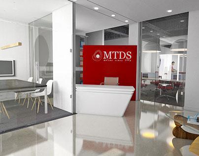 Etude pour l'aménagement bureaux MTDS Rabat Maroc