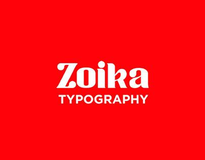 ZOIKA - FREE MODERN SERIF TYPEFACE