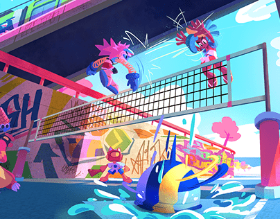 Volley Rush - Game Pitch