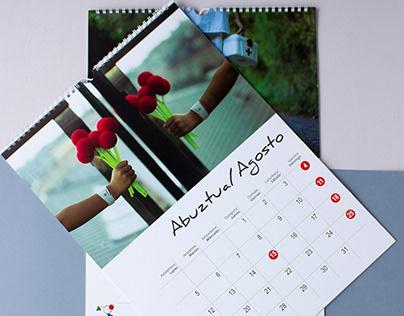 Calendario Algaraklown 2019