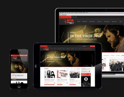 RTR FM 92.1 Website