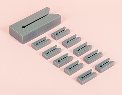 3D-Printed Clothespins