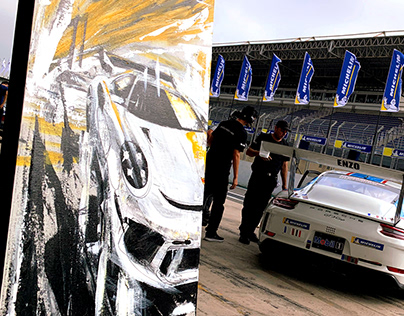 ARTWORK FOR THE CEO OF PORSCHE CARRERA CUP BRAZIL