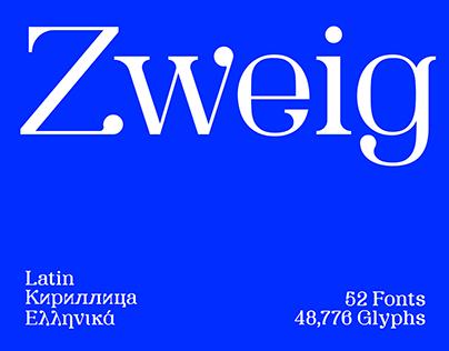 SK Zweig Typeface