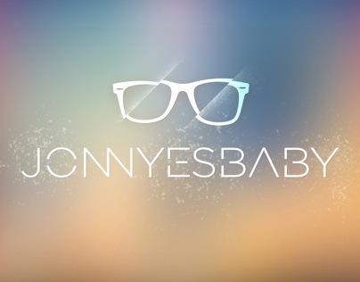 Jonnyesbaby logo design