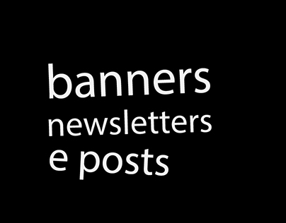 Newsletters, Banners e Posts | E-thinkers