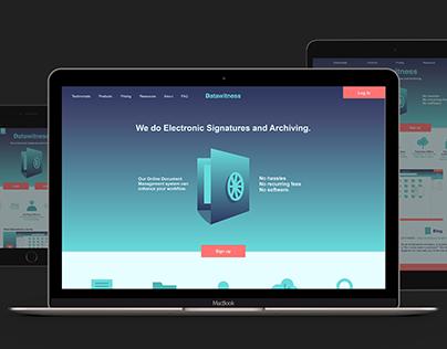 Datawitness Re-design Concept
